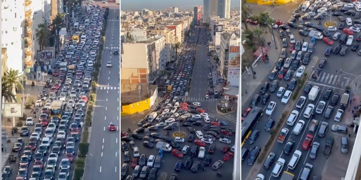 Casablanca: les embouteillages sont-ils la conséquence des travaux ?