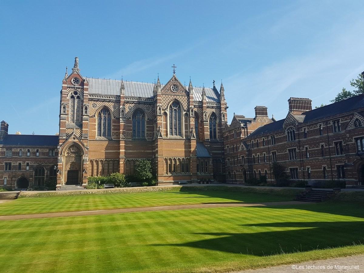 Visite à Oxford sur le thème de la littérature 2/3