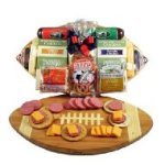 Football Meat and Cheese Tray
