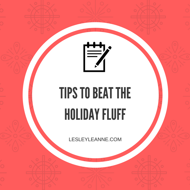 tips for health and fitness during the holidays