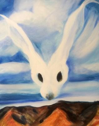 50 x 40 Georgia's Hare
