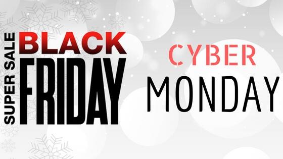 Black Friday & Cyber Monday 2017
