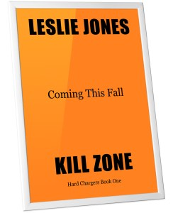 Kill Zone Coming Soon on slanted orange background