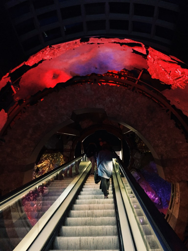 Red Tunnel into Natural History Museum