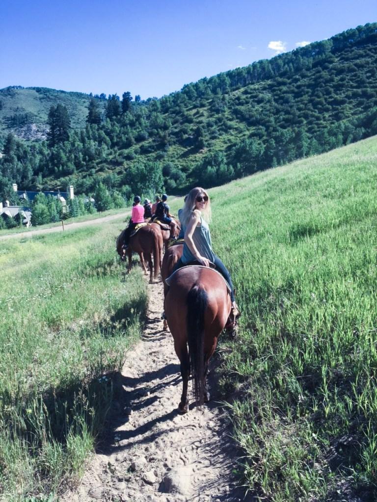 Horseback Riding - Beaver Creek Lodge