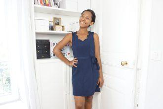 Combinaison Nuage transformée en robe