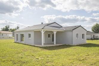Réalisation d'une maison contemporaine de plain-pied à Bergerac