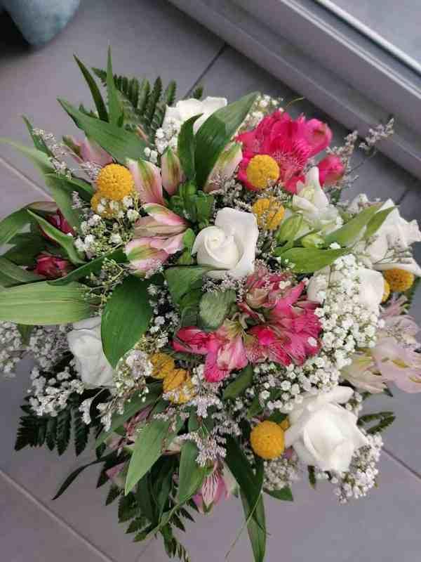 bouquet douceur - le trefle à quatre fleurs - fleuriste à Gondecourt