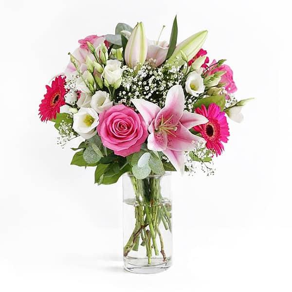 Romance bouquet les meilleurs fleuristes