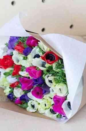 Bouquet d'Anemone + livraison