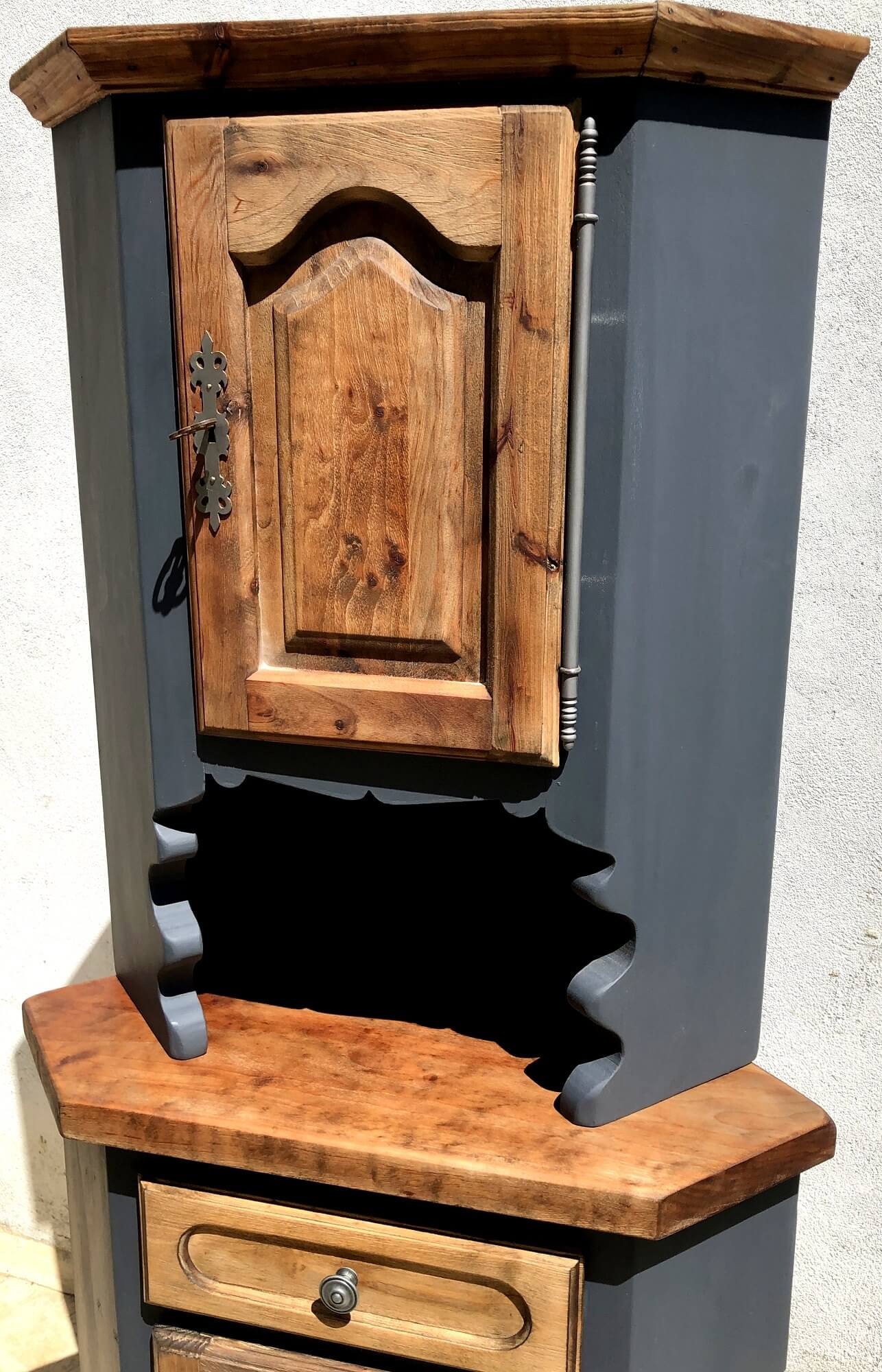 meuble d angle a deux portes