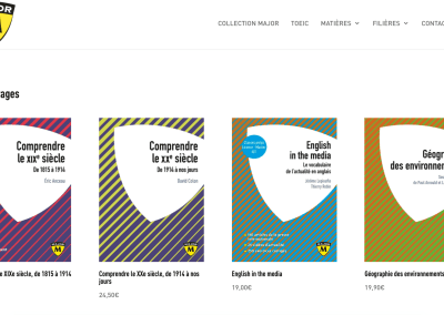 Editions Belin Education : site de la collection Major