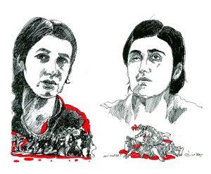 Nadia Murad et Lamiya Aji Bashar, lauréates du Prix Sakharov 2016