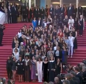 Cannes 2018, mobilisation di collectif 50/50