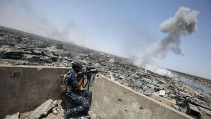Daesh contrôle cependant toujours quelques zones en Irak. © AFP