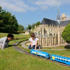 Orlean train miniature