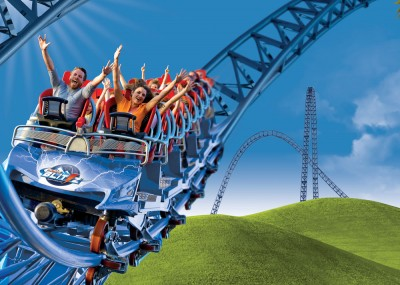 Mega coaster alpina