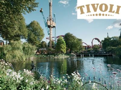 Jardin du Tivoli Danemark