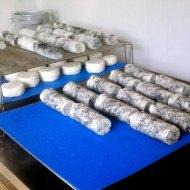 L'affinage des bûches de fromage de chèvre
