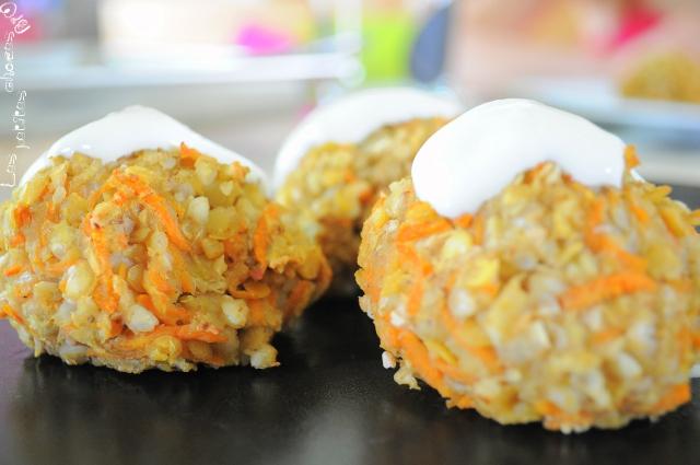 boulettes de sarrasin et lentilles corail