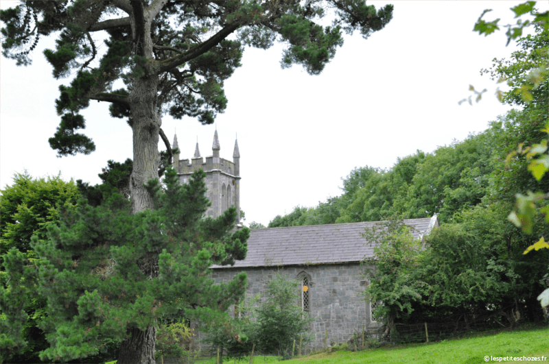 Irlande Bunratty Folk Park Eglise d'Ardcroney