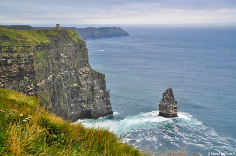 Irlande Falaises de Moher / Cliffs of Moher / Tour O'Brien