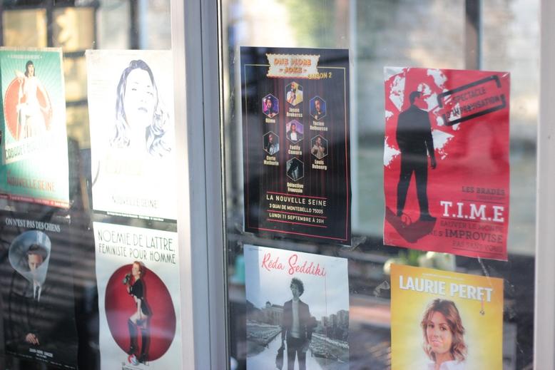 Les affiches sur la Nouvelle Seine