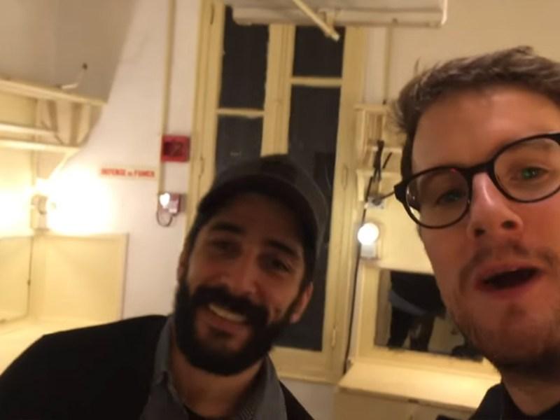 Paul Taylor dans le VLOG Being a comedian, avec Noman Hosni