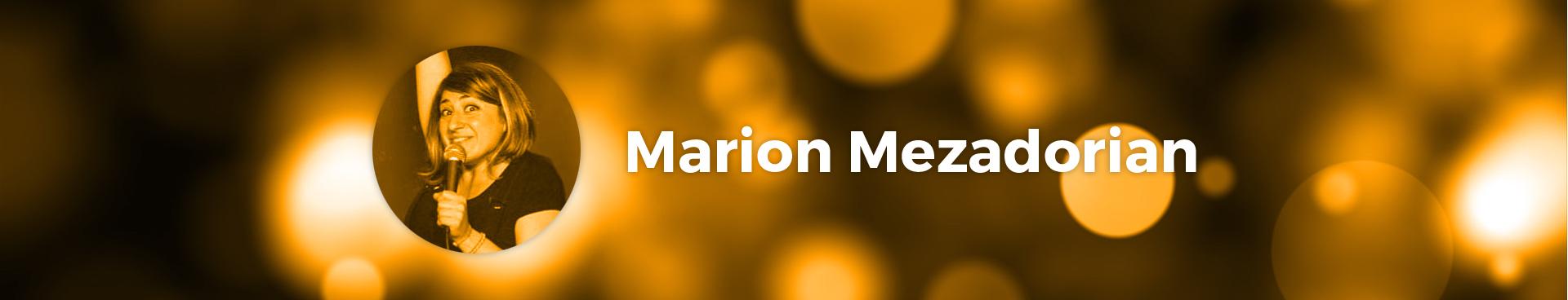 Marion Mezadorian, artiste Le Spot du Rire