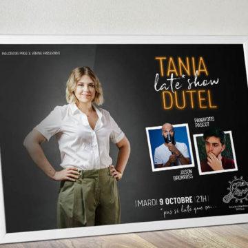 Tania Dutel late show : la première