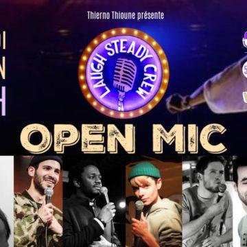 Alexandre Di Mambro, Audrey Jésus et Anissa Omri sélectionnés à l'Open Mic du Laugh Steady Crew