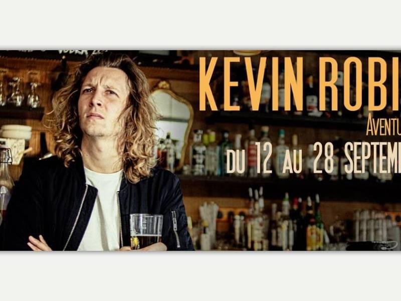 Kevin Robin joue son spectacle Aventurier à Nantes en septembre 2019