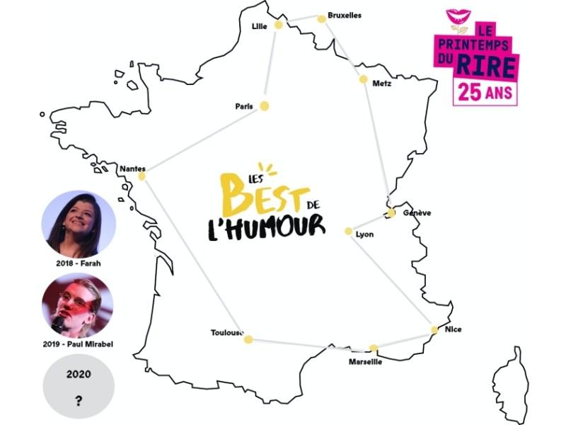 Best de l'Humour 2020 : la tournée des sélections