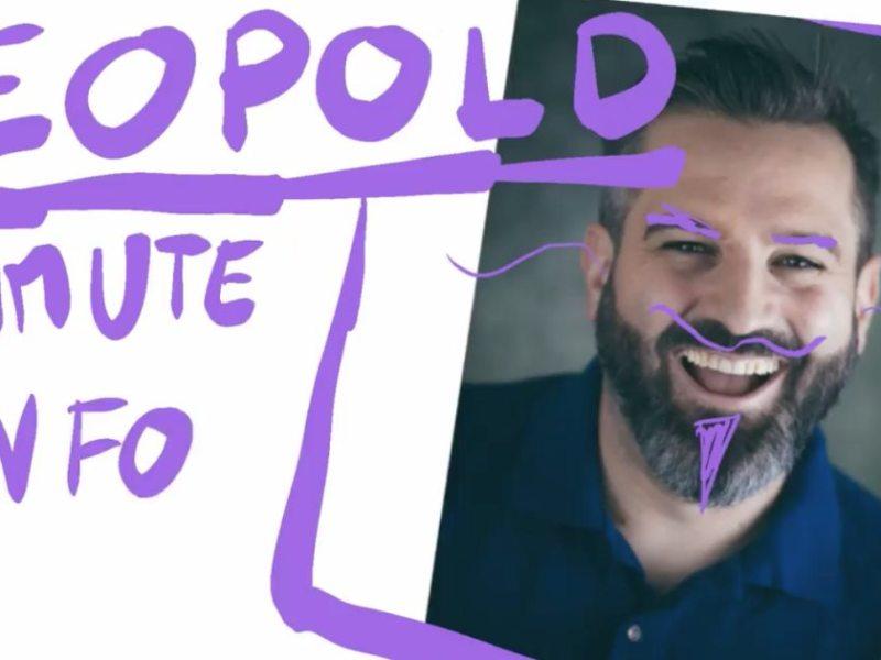 Dans Le matinale, l'humoriste Léopold azimute l'info