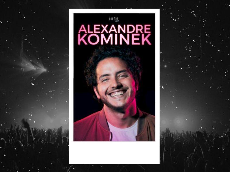 Alexandre Kominek au BO Saint Martin : affiche de son spectacle