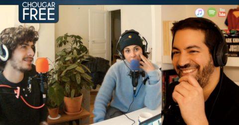 Créer des podcasts : capture d'écran du podcast Chougar Free (Arezki Chougar)