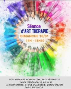 Atelier d'Art-thérapie à Dijon Danse @ Dijon Danse