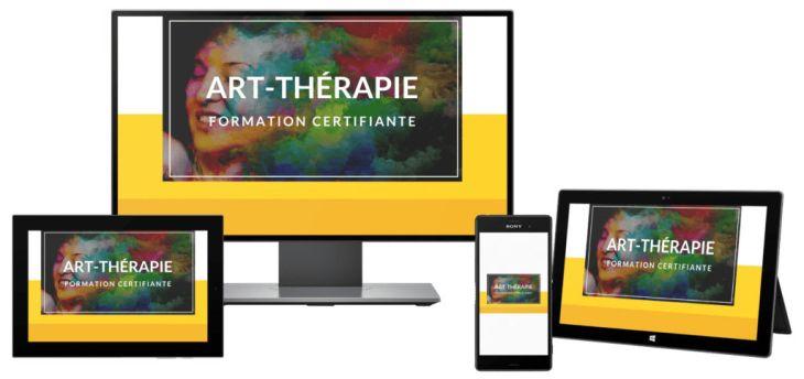 certificat art-thérapeute en ligne