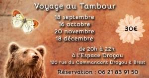 Voyage au Tambour à Brest (29) @ Espace Drogou