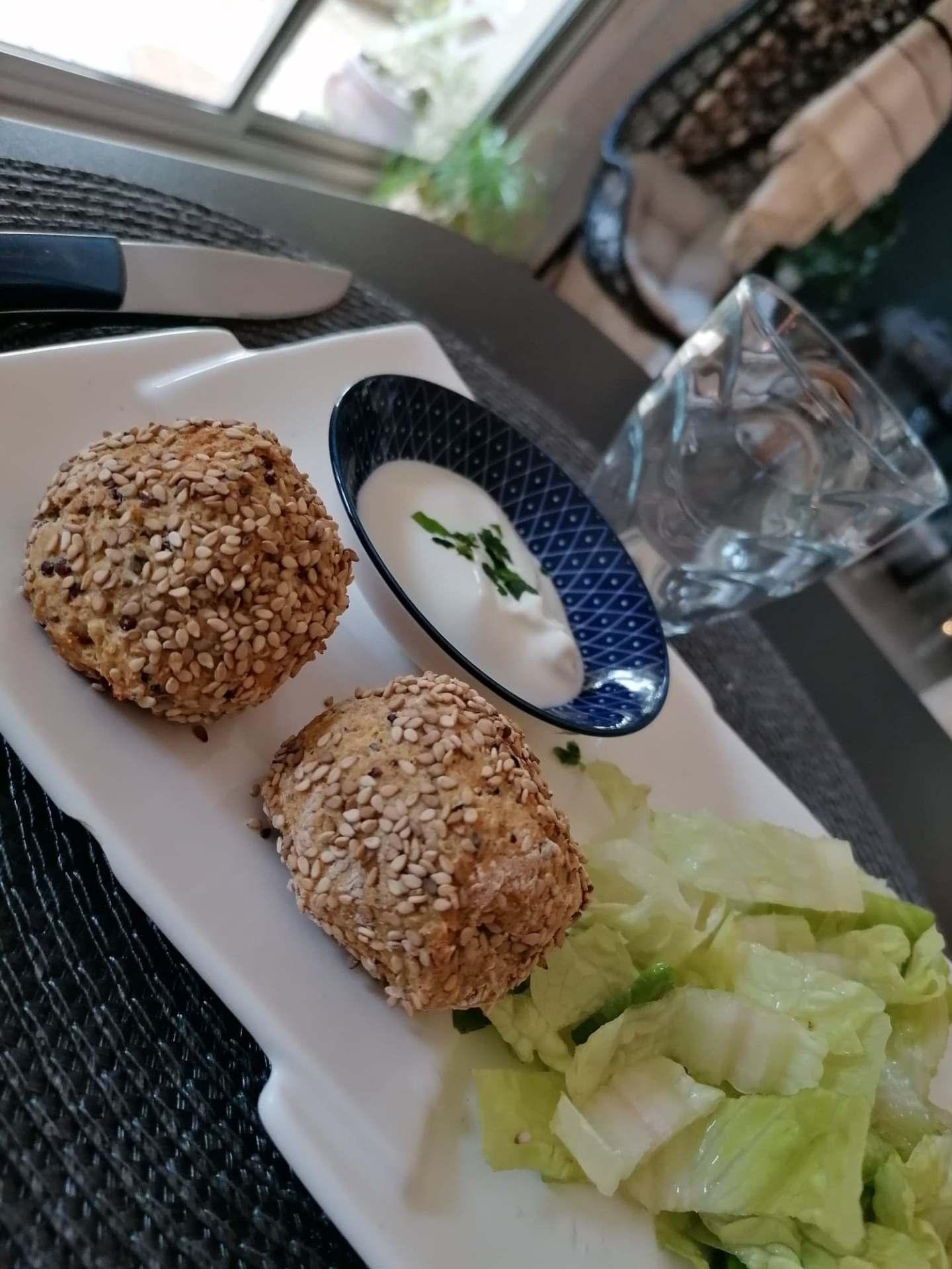 Boulettes de pois chiches au quinoa