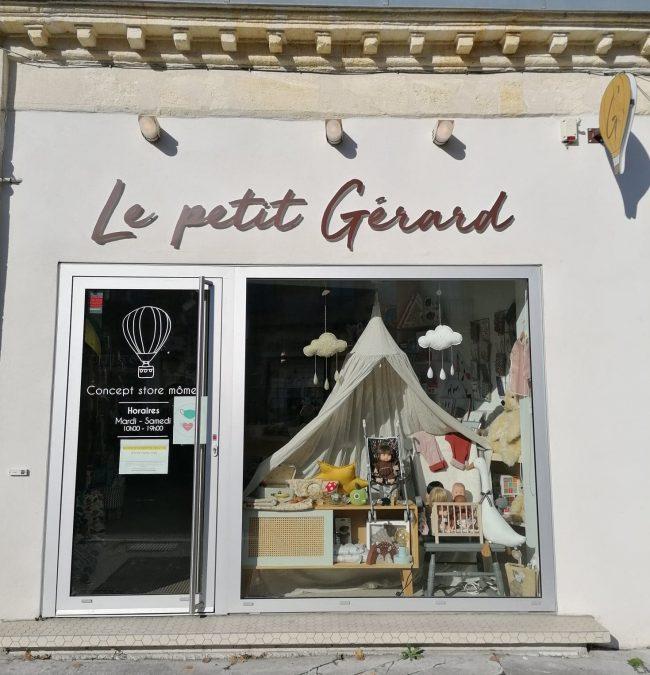 Concept store mômes bordelais, Le petit Gérard