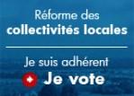 Consulation des adhérents sur la réforme des collectivités