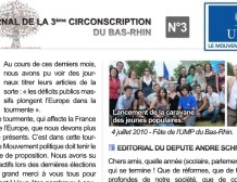 Journal de la 3ème circonscription UMP du Bas-Rhin – N°3