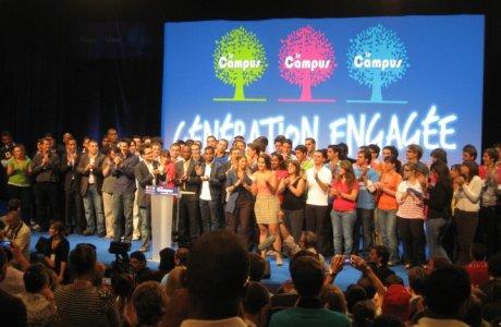 Campus 2010 des Jeunes Populaires