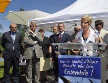 Bernadette THIEBAUT, le discours de Brumath – Fête champêtre de l'UMP 67