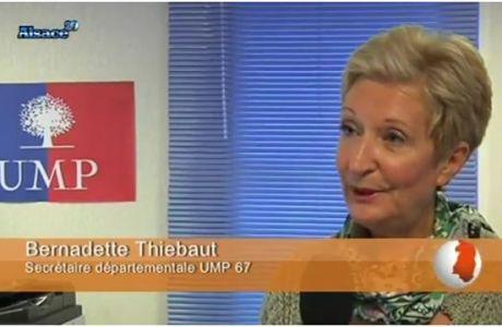 «PS, un parti sans réel candidat?» Interview de Bernadette THIEBAUT sur Alsace 20