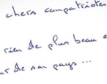 Découvrez la lettre de Nicolas SARKOZY au peuple français