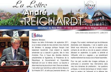 La Lettre sénatoriale d'André REICHARDT, N°2