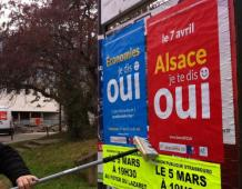 Campagne pour le OUI à Strasbourg :  Mobilisation militante & Réunion publique