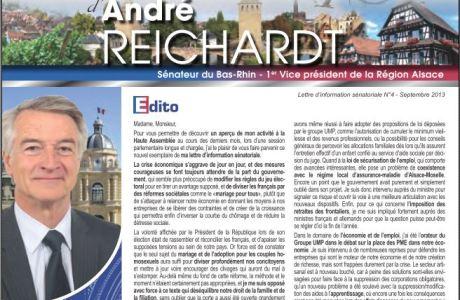 La Lettre sénatoriale d'André REICHARDT, N°4